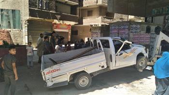 سقوط سيارة من أعلى محور صفط اللبن ومصرع قائدها   صور