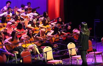 بمعزوفات بديعة للموهوبين من طلبة عماد حمدى.. أكاديمية الجيتار بالأوبرا تختتم موسمها الفنى ٢٠١٧ - ٢٠١٨