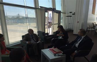 وزيرة التخطيط تناقش آليات تطبيق التنمية المستدامة مع منظمة التعاون الاقتصادي | صور
