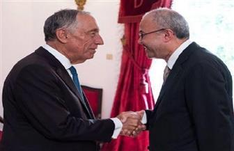 """الرئيس البرتغالي يشكر """"العشيري"""".. ويثمن جهود مصر لتحقيق الأمن في المنطقة"""