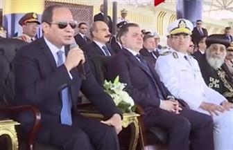 الرئيس السيسي يعد بحضور حفل زفاف نجلة أحد شهداء الشرطة