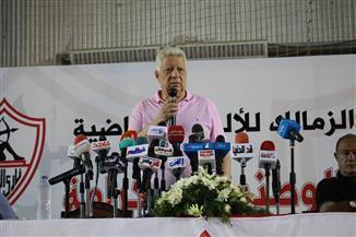 مرتضى منصور: مجلس الزمالك غير مسئول عن مخالفات المدير المالى
