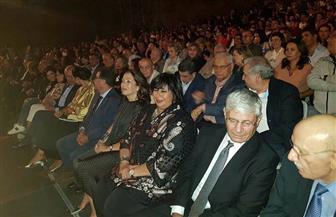إيناس عبدالدايم: العلاقات الثقافية المصرية اللبنانية تضرب بجذورها في أعماق التاريخ| صور