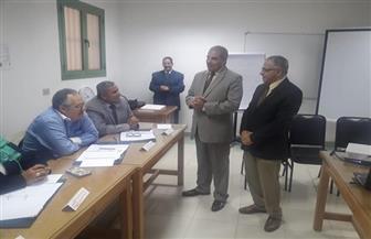 رئيس جامعة الأزهر يتفقد الدورات التدريبية لأعضاء هيئة التدريس |صور