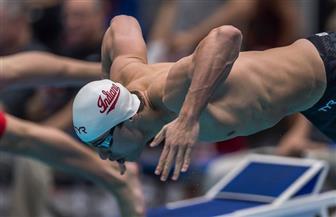 """محمد سامي يصعد لنصف نهائي """"50 متر ظهر"""" في بطولة العالم للسباحة"""