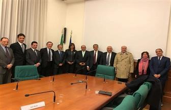 وزيرة الهجرة: الانتهاء من إجراءات معادلة رخصة القيادة المصرية بالإيطالية | صور
