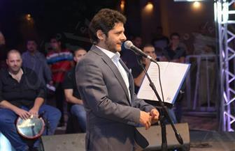 """اللبناني معين شريف في حفله بـ""""طابا"""": """"شكرا لمصر الغالية التي دائما ما تلم شمل العرب"""" / صور"""