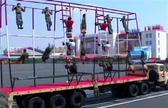 عروض عسكرية مبهرة لخريجي الكليات العسكرية في حفل تخرج دفعة جديدة   فيديو