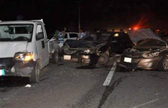 إصابة 18 سودانيا و4 مصريين في حادث مروري بأسوان