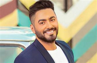 """شيرين حمدي وتامر حسني على """"on TV"""" أول أيام العيد"""