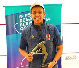 مصطفى عسل يتوج ببطولة العالم للإسكواش تحت 19 سنة