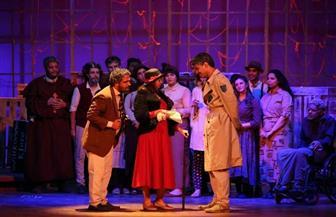 """عرض """"الزيارة"""" يثير إعجاب الجمهور في مهرجان القومي للمسرح"""