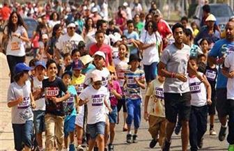 وزير الرياضة ومحافظ الجيزة يشاركان في ماراثون للجري احتفالا بثورة يوليو