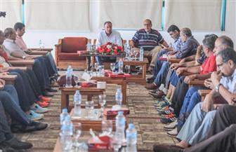 رئيس الأهلي يجتمع مع مدربي النشاط الرياضي بمدينة نصر