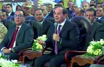 """الرئيس السيسي للقائمين على شركة """"سيمنز"""": أشكركم باسم كل المصريين"""
