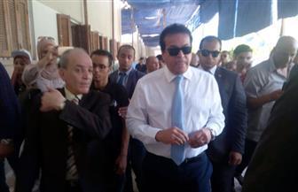 عبد الغفار يتفقد مكتب التنسيق مع بدء تنسيق شهادات المعادلات  صور