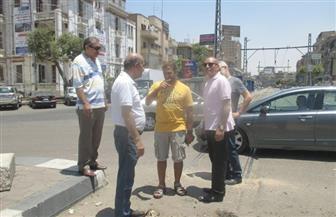 رئيس حي مصر الجديدة يتابع تطوير ميدان الإسماعيلية  صور