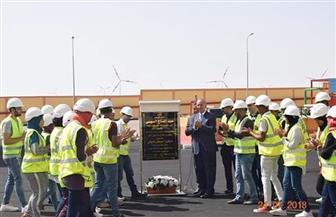بقدرة 220 ميجاوات.. تعرف على تفاصيل أكبر محطة لإنتاج الكهرباء من الرياح بمنطقة جبل الزيت| صور