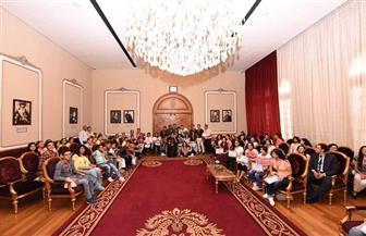 البابا تواضروس يستقبل فائزي مسابقة مدارس الأحد |صور