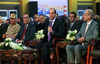 الرئيس السيسي يفتتح عددا من المشروعات القومية بقطاع الكهرباء عبر الفيديو كونفرانس