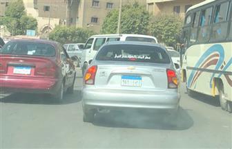 كثافات مرورية بعدد من محاور القاهرة | صور