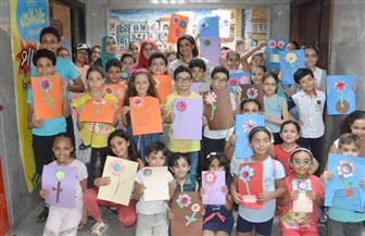 أصدقاء ورشة علاء الدين الصيفية فى حوار مع طاقم المجلة بمقر الأهرام | صور