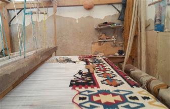 """انتهاء أزمة انقطاع الكهرباء عن ورش السجاد بـ""""قرية أبو شعرة"""" بعد تدخل المسئولين"""