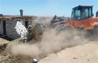 تنفيذ 61  قرار إزالة تعديات على أراضى الدولة بأسوان | صور