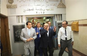 وزير التعليم العالي يتفقد مستشفيات جامعة عين شمس  صور