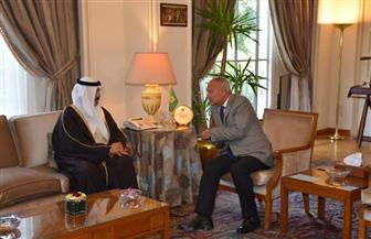 أبو الغيط يستقبل وزير التربية والتعليم البحريني