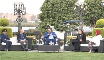 الليلة.. سكينة فؤاد ومحمد فاضل وفردوس عبد الحميد ضيوف صالون المحور الثقافى