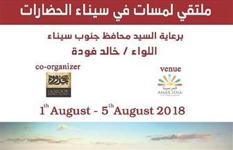 ملتقى للفن التشكيلى لنشر السلام ونبذ الإرهاب فى شرم الشيخ.. أغسطس المقبل  صور
