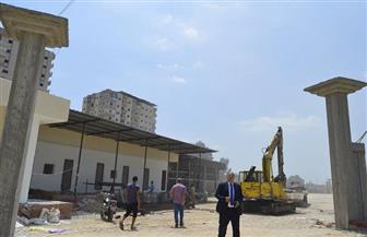 أعمال نظافة ومشروعات خدمية جديدة بمدينة كفر الشيخ