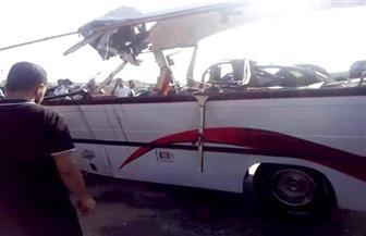"""ننشر أسماء حالات الوفاة والإصابة في حادث تصادم طريق """"بورسعيد - الإسماعيلية"""""""