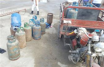 ضبط 71 قضية مواد بترولية وأسطوانات بوتاجاز في 4 أيام
