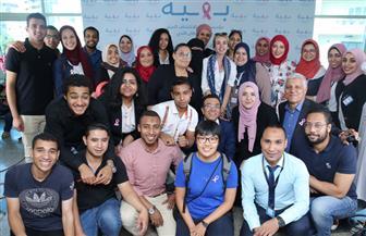 هنا الزاهد في زيارة لمحاربات سرطان الثدي