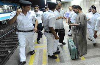 ضبط مخالفات وإشغالات في حملة تفتيشية بمحطات مترو الأنفاق