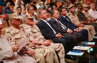 محافظ كفر الشيخ يكرم 350 من أسر شهداء ومصابي العمليات الحربية | فيديو وصور