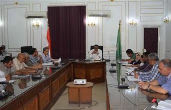 سكرتير عام محافظة المنيا يناقش تطوير الخدمات الحكومية المقدمة للمواطنين