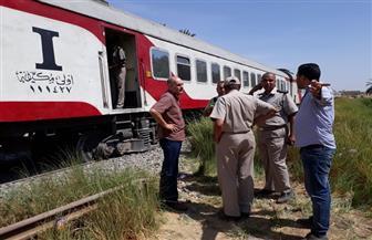 سكة حديد أسوان تعلن تعديل المواعيد بعد حادث خروج قطار عن مساره