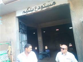 إحالة مفتش تموين بالسنطة للتحقيق بسبب أنابيب البوتاجاز | صور