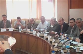 مجلس قطاع خدمة المجتمع بجامعة المنوفية يعرض إنجازاته في محو الأمية| صور