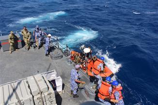 """وصول قطع بحرية أمريكية وإماراتية للمشاركة في تدريب """"استجابة النسر 2018 """" مع مصر   صور"""