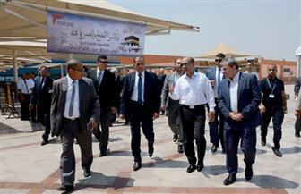 وزير الطيران يتفقد مطار أسوان والصالة الموسمية