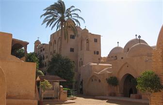 رئيس قطاع الآثار الإسلامية والقبطية يتفقد أعمال التطوير بأديرة وادي النطرون