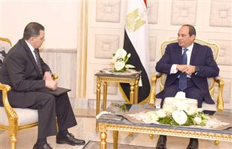 الرئيس السيسي يستقبل وزير الداخلية