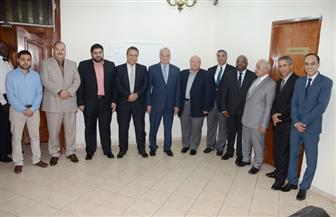 محسن صلاح يشهد اجتماع الجمعية العمومية لشركة المقاولون العرب بالكاميرون | صور