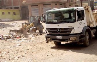 رئيسة مدينة الحامول تتابع حملات النظافة| صور