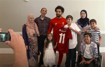 محمد صلاح يحقق حلم طفل سوري في الولايات المتحدة | فيديو