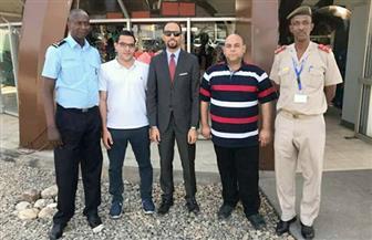 وصول الوفد الطبي المصري لتدريب طاقم المستشفيين العسكري والشرطي في بوجمبورا